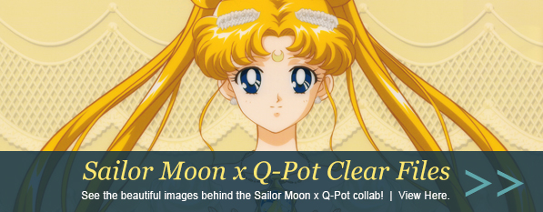 Sailor Moon x Q-Pot Limited Clear Files