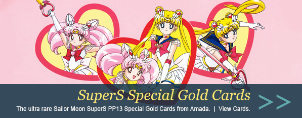 Sailor Moon SuperS PP13 Zenin Special Gold Cards