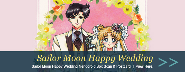 Sailor Moon Happy Wedding