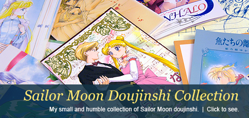 My Sailor Moon Doujinshi Collection